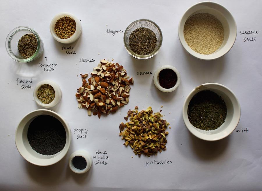recipe dukkah