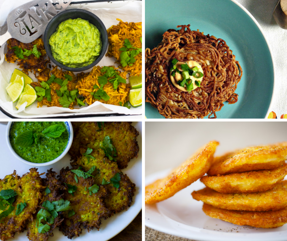 9 Latke Recipes That Don't Use Potatoes