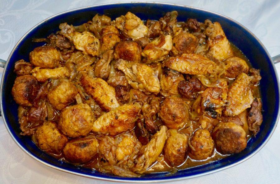 Chicken fricassee a jewish classic the nosher forumfinder Images
