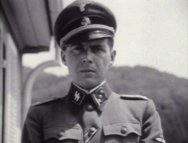 Josef Mengele during World War II. (Wikimedia Commons)