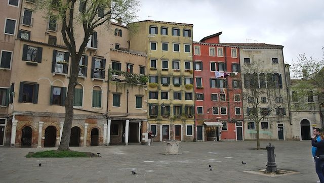 The Venice Ghetto today. (Wikimedia Commons)