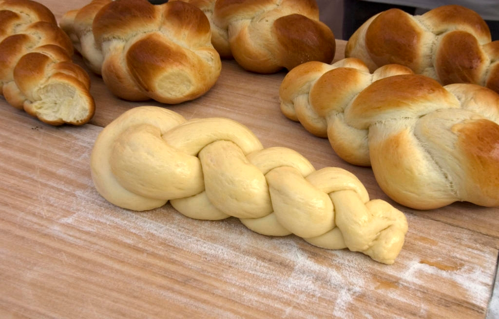 Fresh Challah Bread