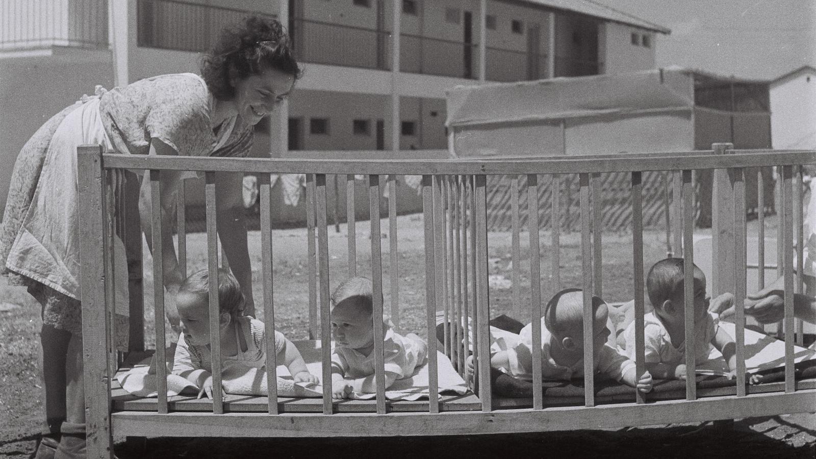 babies kibbutz israeli history