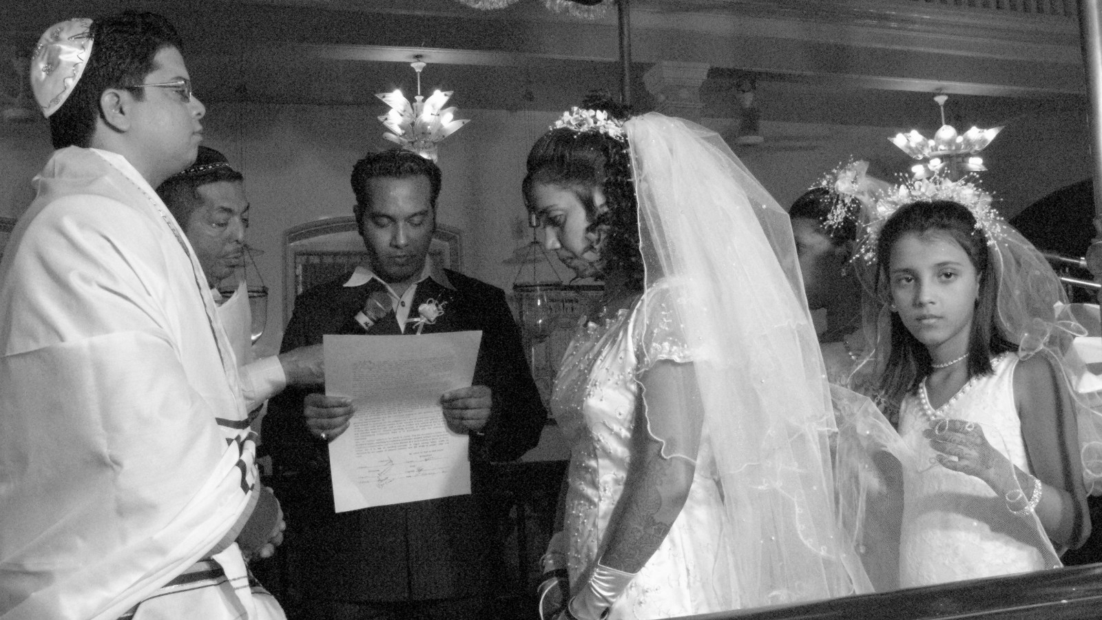 Jewish Wedding In Mumbai India Zion Ozeri Jewishlens Org