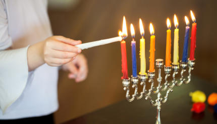How To Celebrate Hanukkah At Home. Your Guide To Lighting The Candles ...