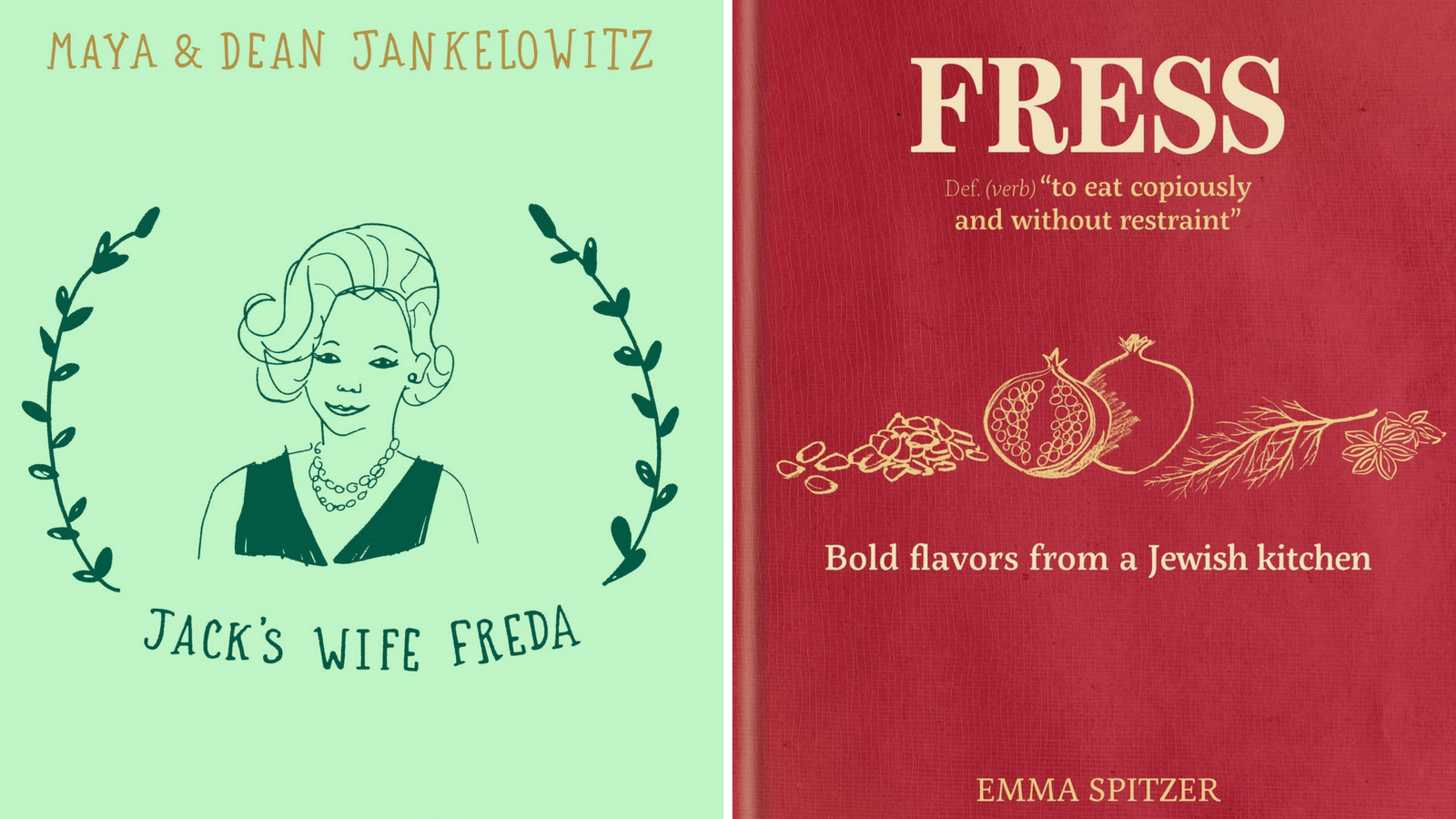 FREE STUFF: Two New Jewish Cookbooks For Spring