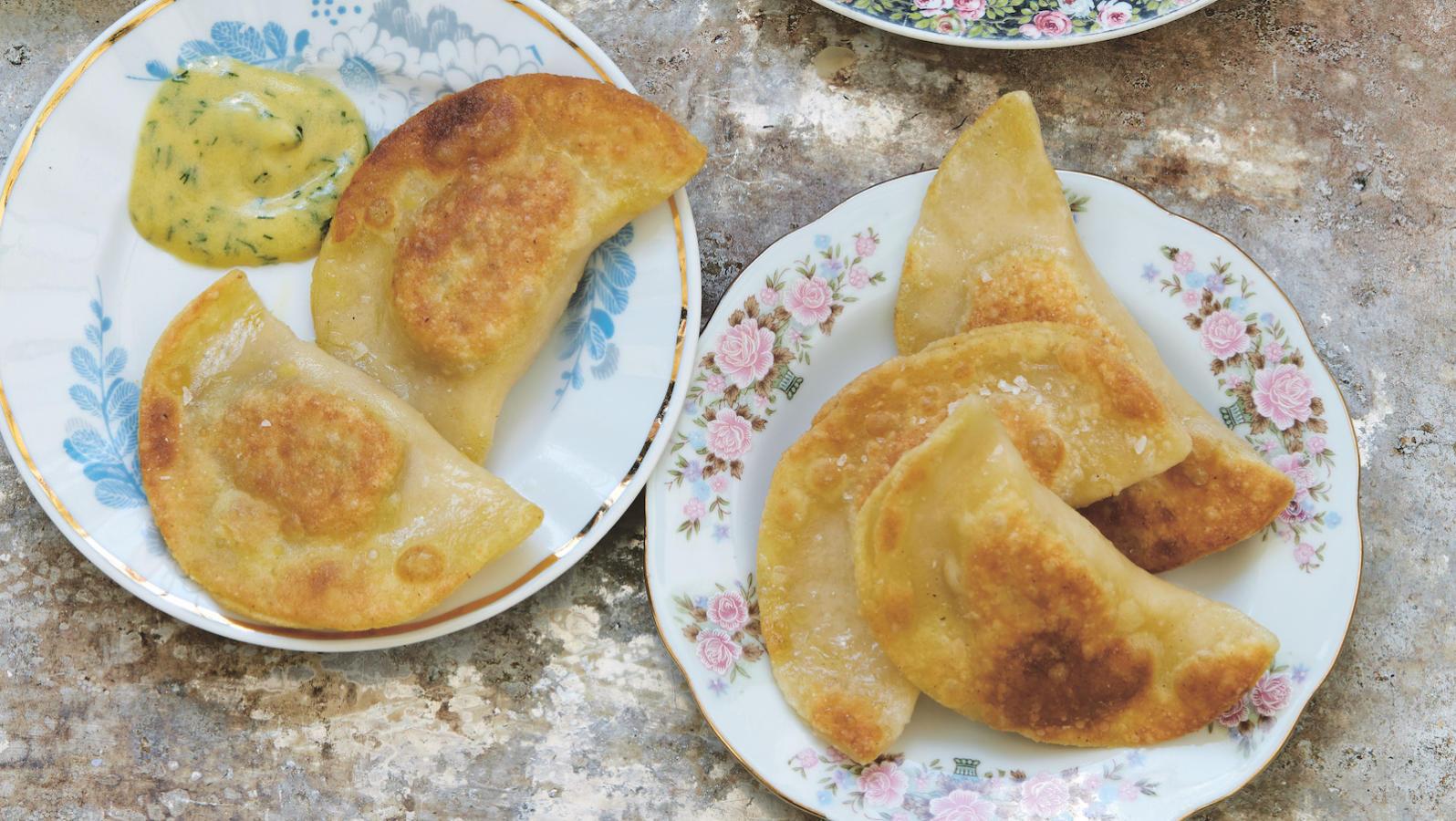 Pastrami Pierogis