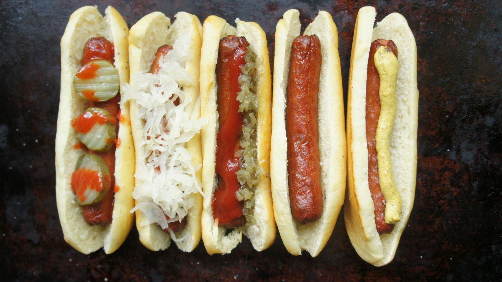 Honey Fluffy Buns Hot Dog