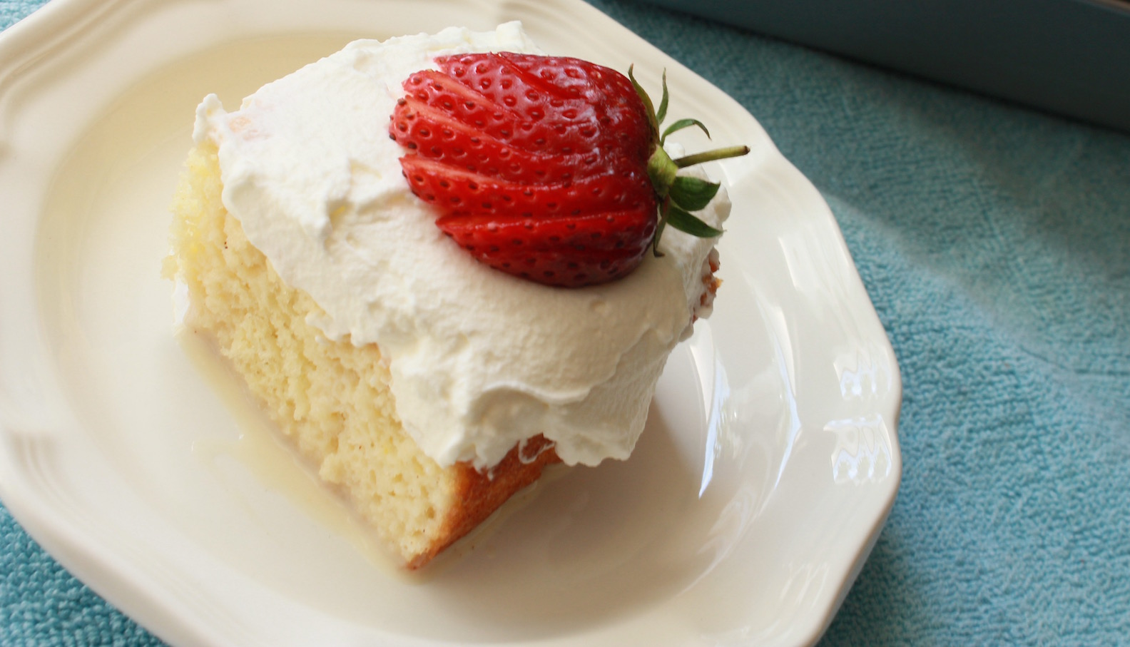 Tres Leches Cake Recipe for Shavuot