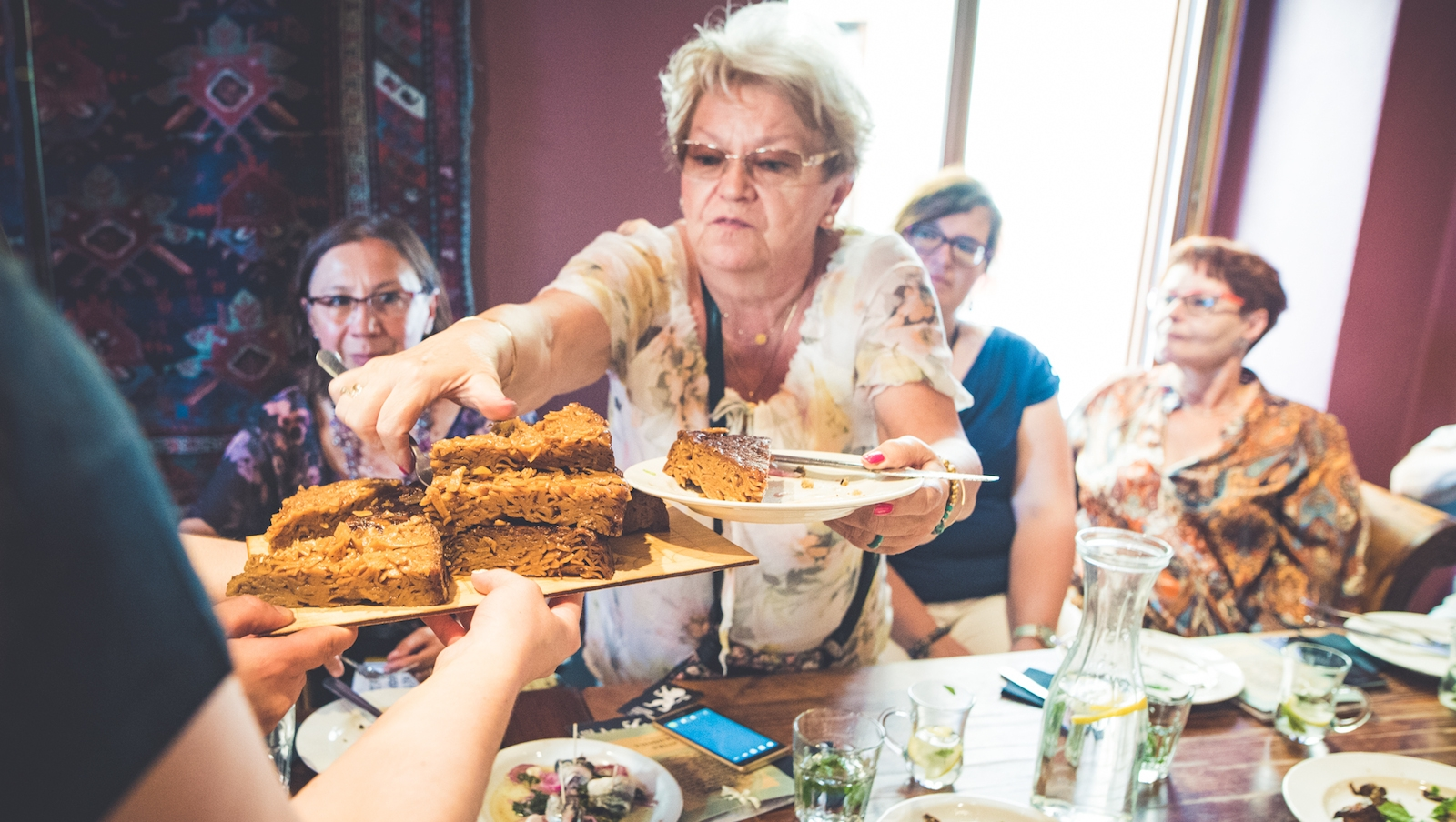 Delicious Israeli Food In A Surprising Locale The Nosher