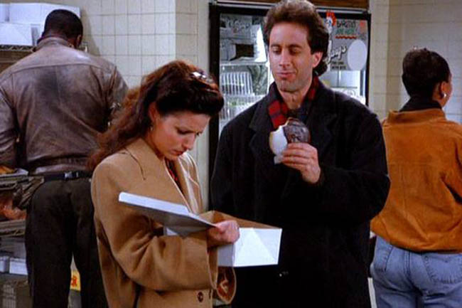 Black And White Cookie Seinfeld Gif
