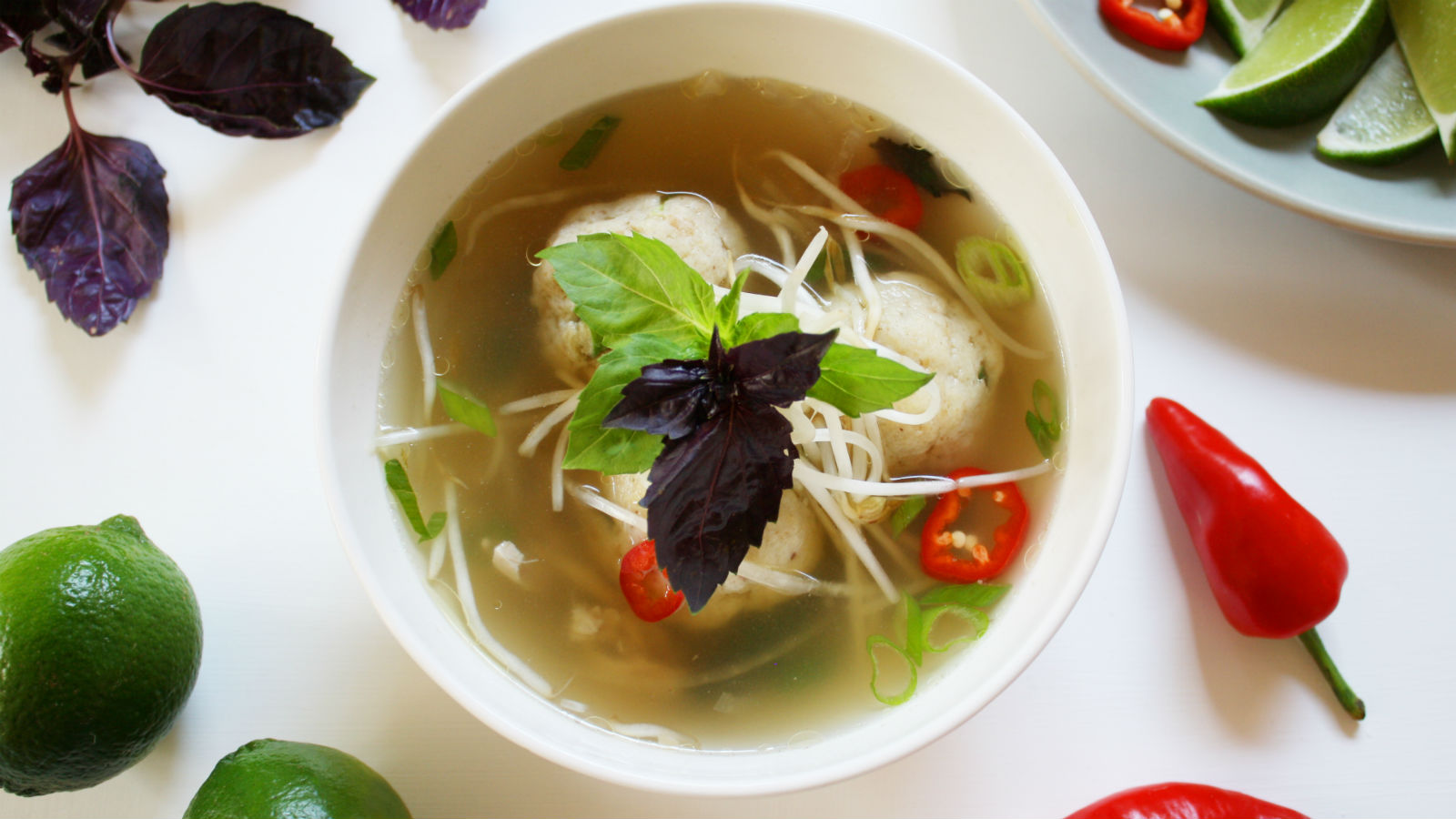 Matzah Ball Pho Recipe | The Nosher
