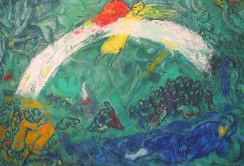 Marc Chagall Paintings Wedding - Mafiamedia