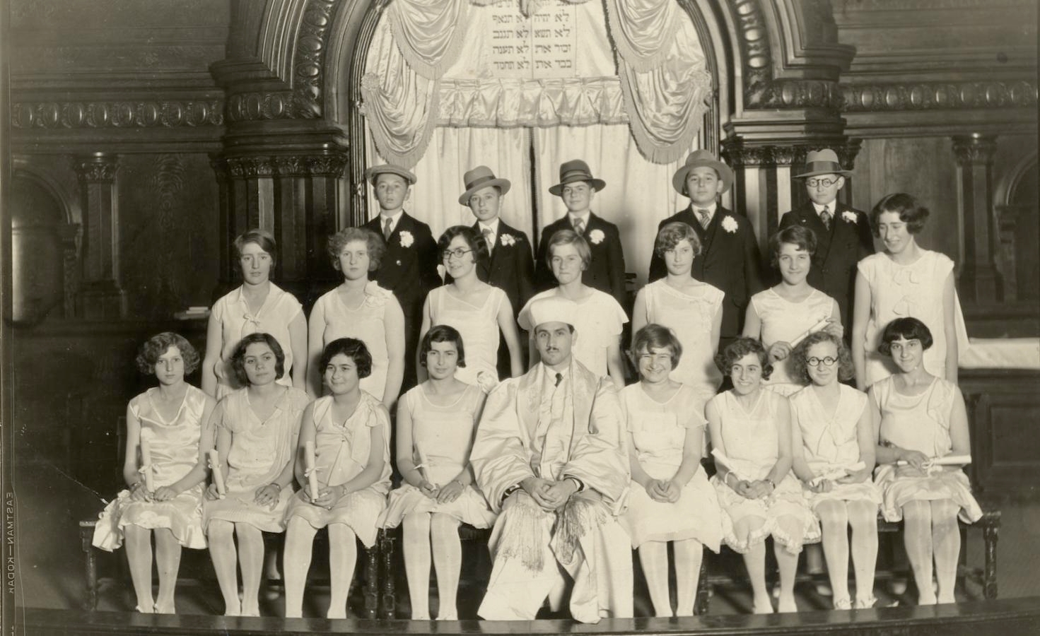 History of confirmation my jewish learning confirmation class at san franciscos temple beth israel circa 1920 magnes collection of jewish art university of california berkeley biocorpaavc
