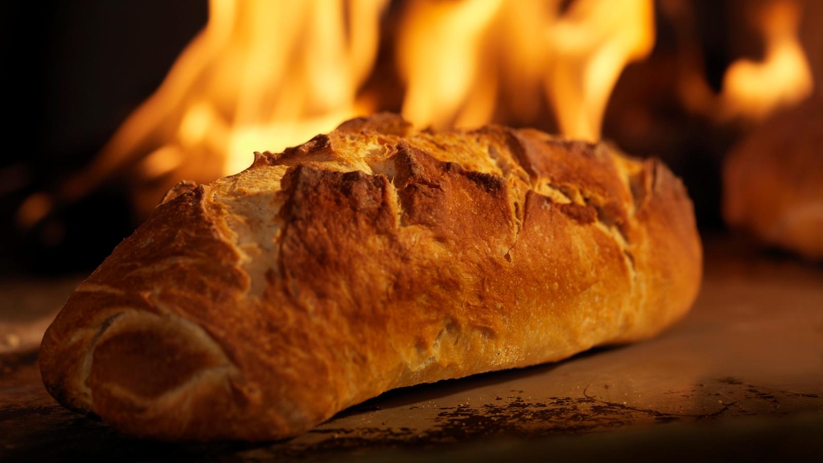 burning bread