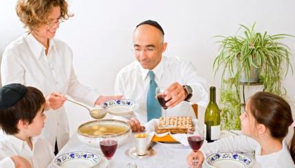 celebrating passover seder