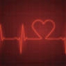 heart pulse in red