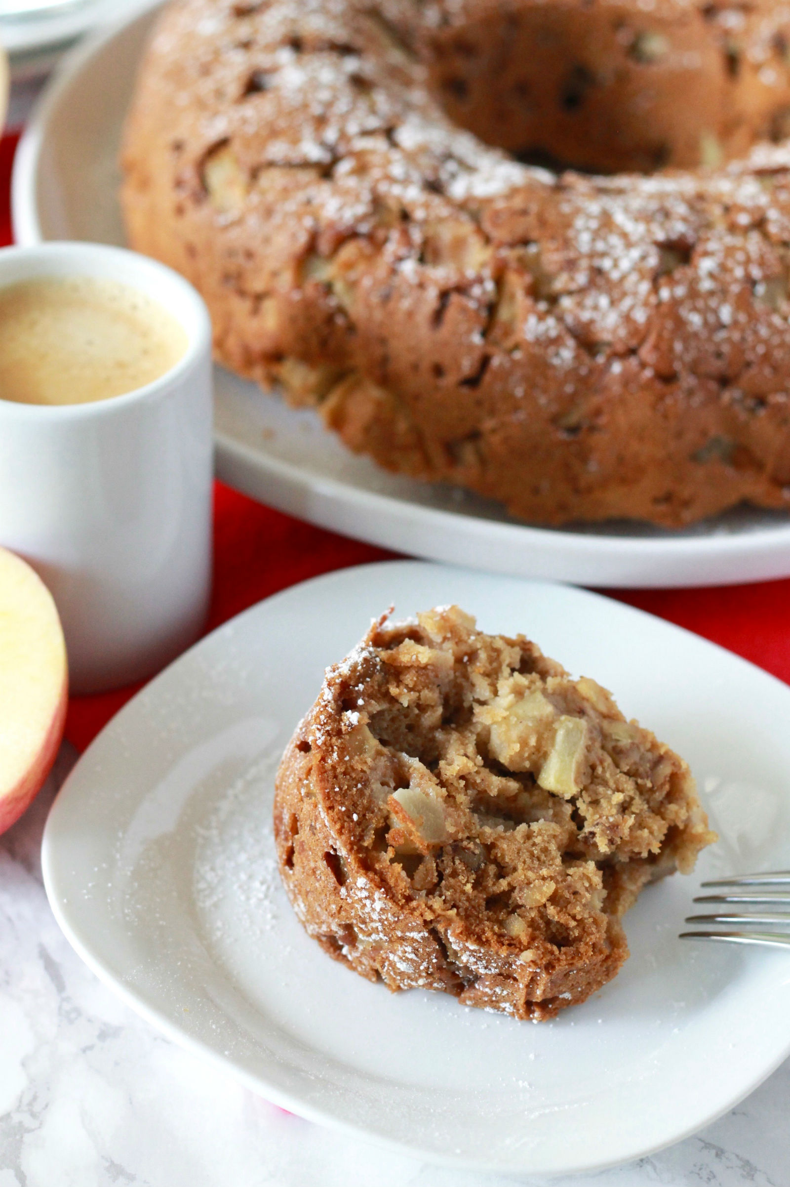 Gluten Free Apple And Olive Oil Cake