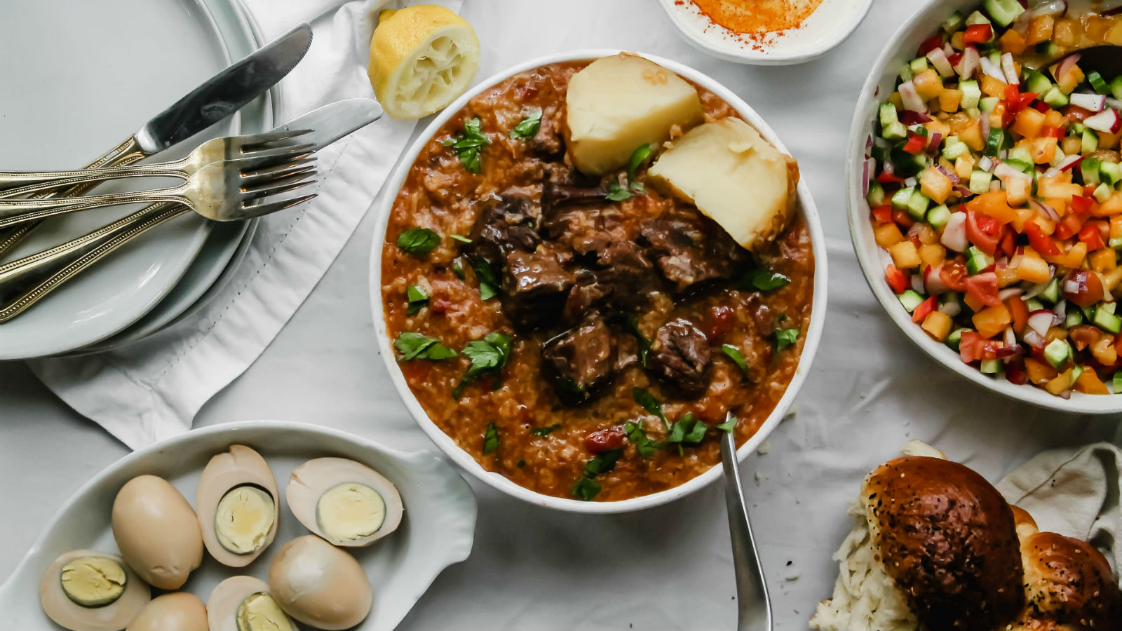 This Bukharian Jewish Meaty Rice Dish is the Crockpot Meal You Need | The Nosher
