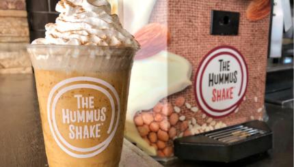 pumpkin hummus shake