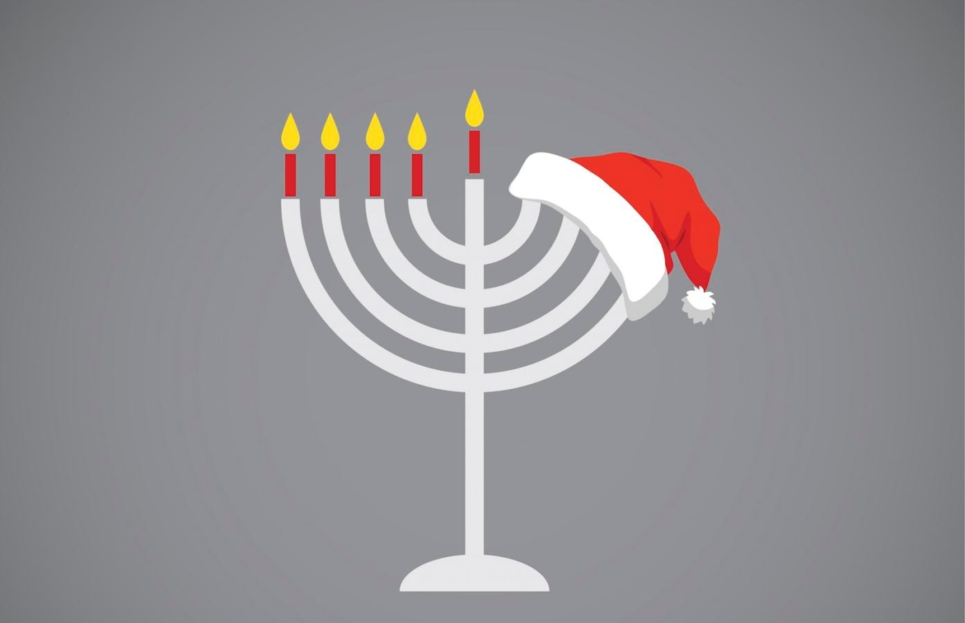 Jewish Christmas.How Are Hanukkah And Christmas Different My Jewish Learning