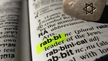 Rabbi dictionary definition
