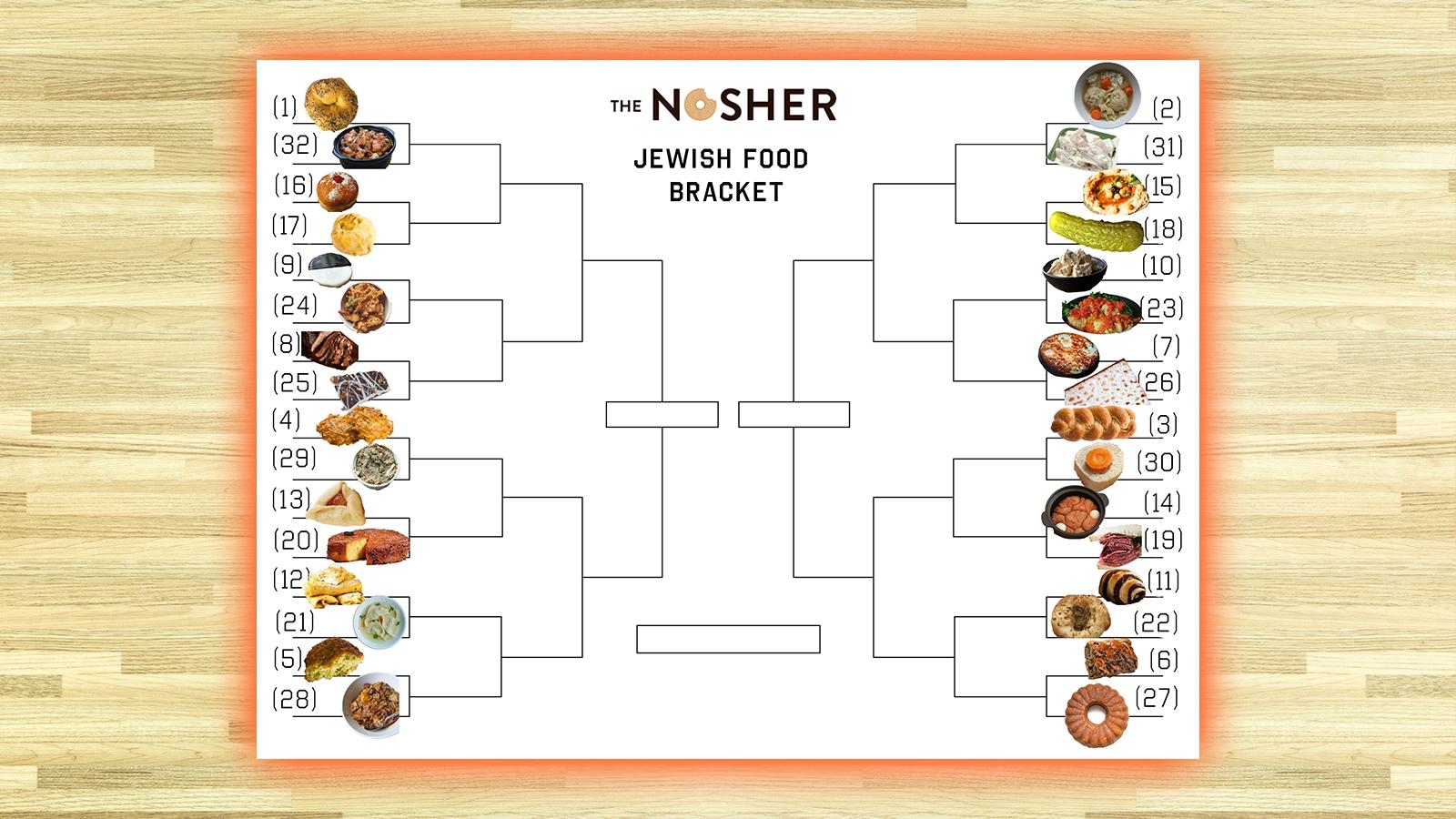 Jewish food bracket
