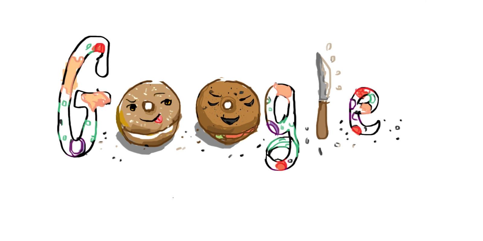 bagel doodle