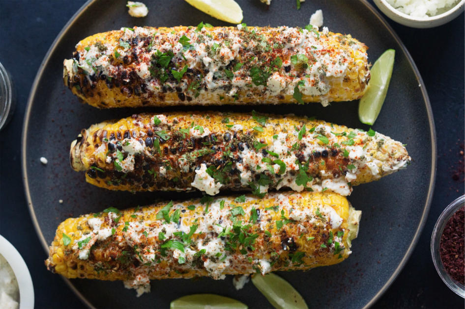 This Israeli-Inspired Corn is Everything