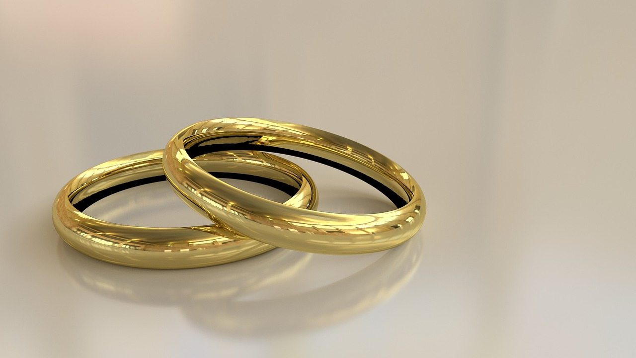 It is a graphic of All About Jewish Wedding Rings My Jewish Learning