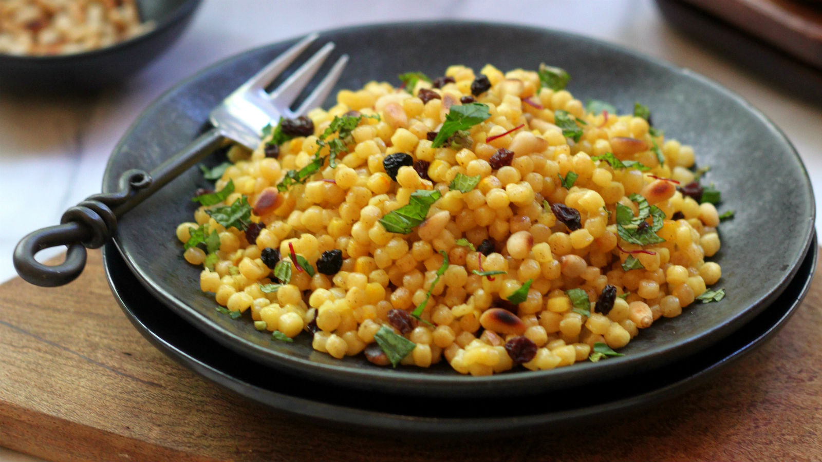 Israeli Couscous Pilaf My Jewish Learning