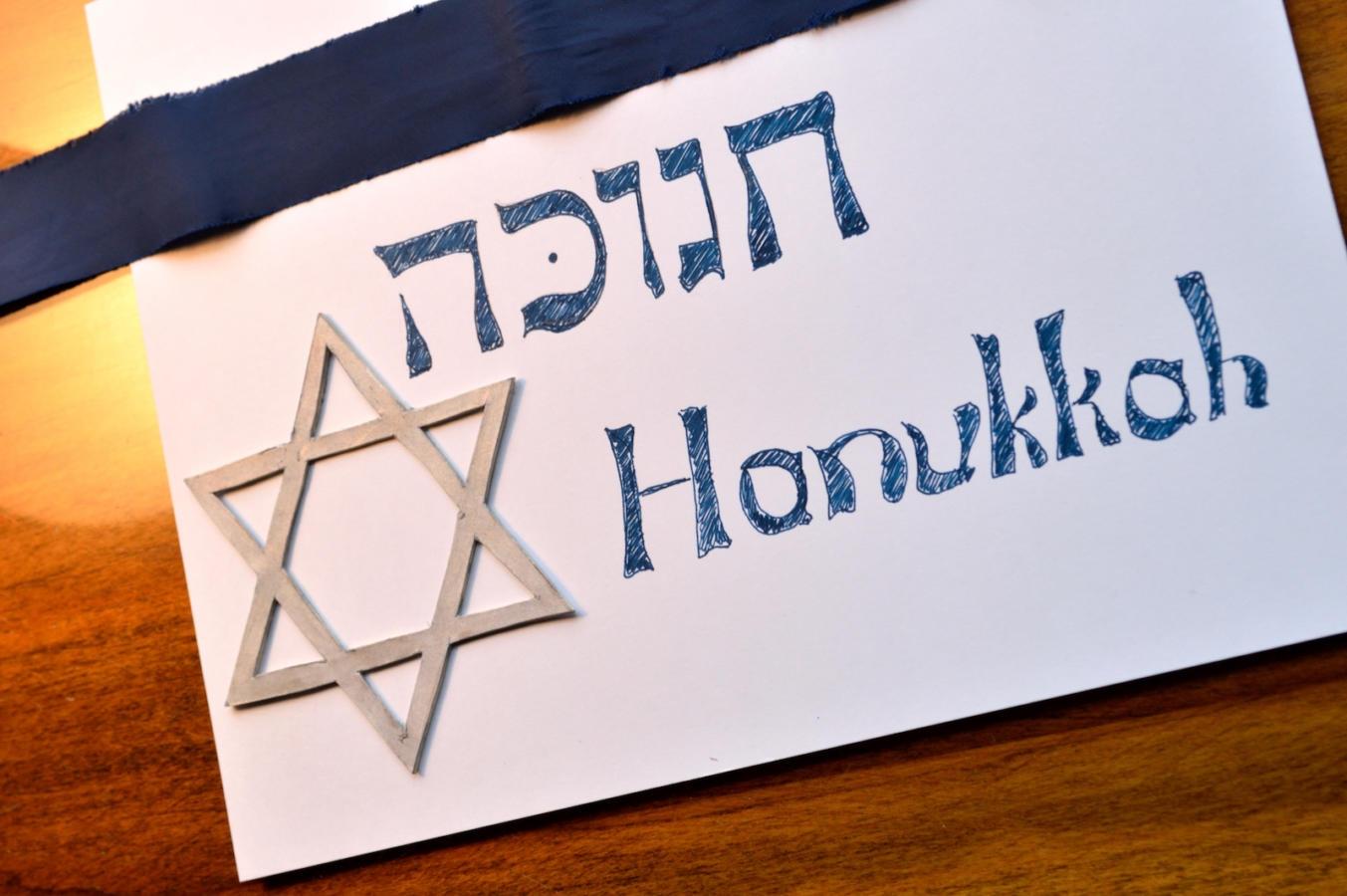 Hanukkah, or Chanukah background