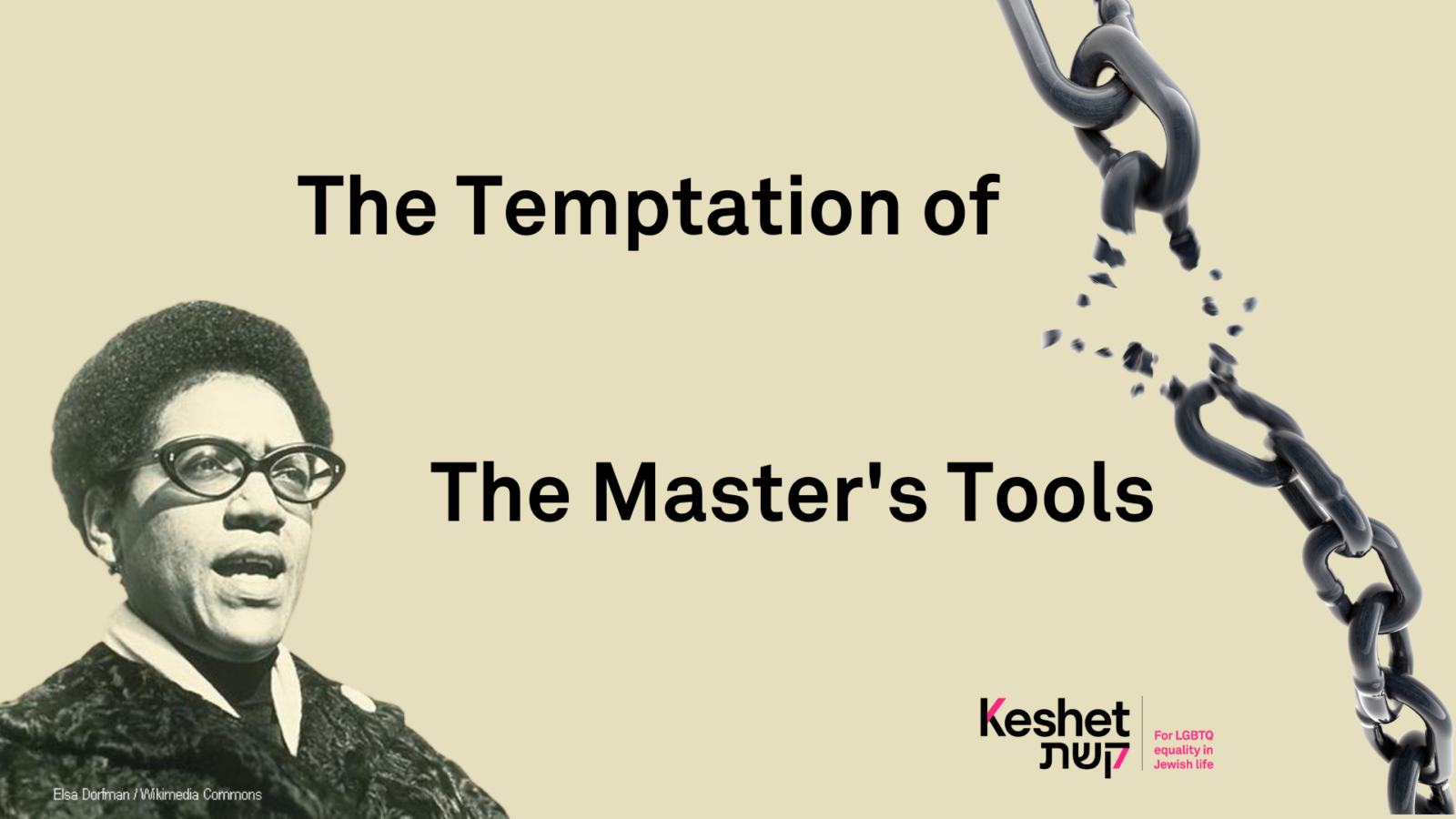 The Temptation of the Master's Tools