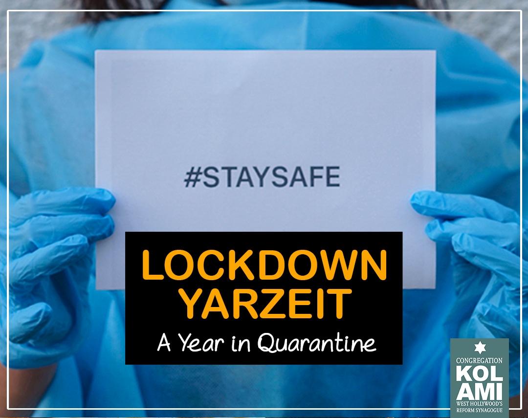 Lockdown Yahrzeit