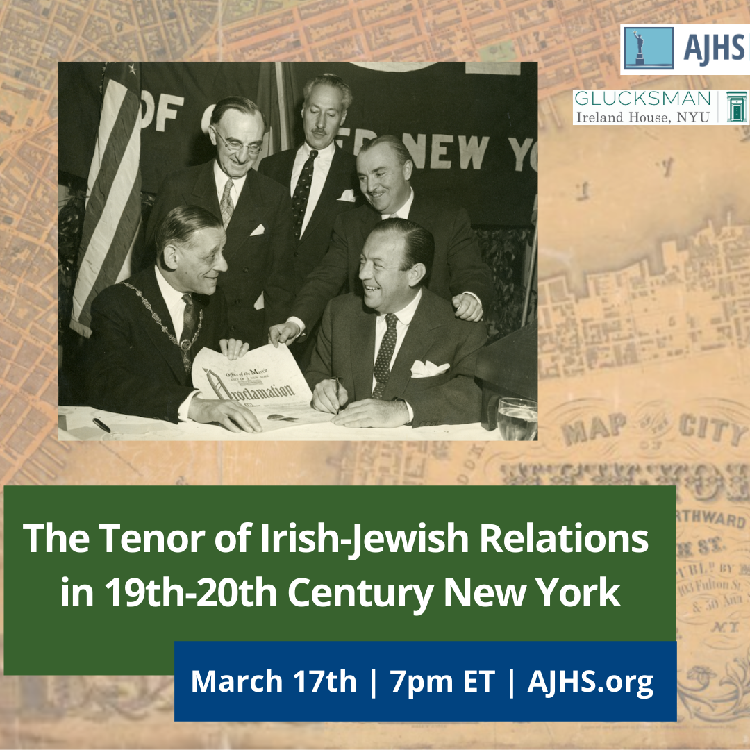 Irish-Jewish Relations in 19th-20th Century New York