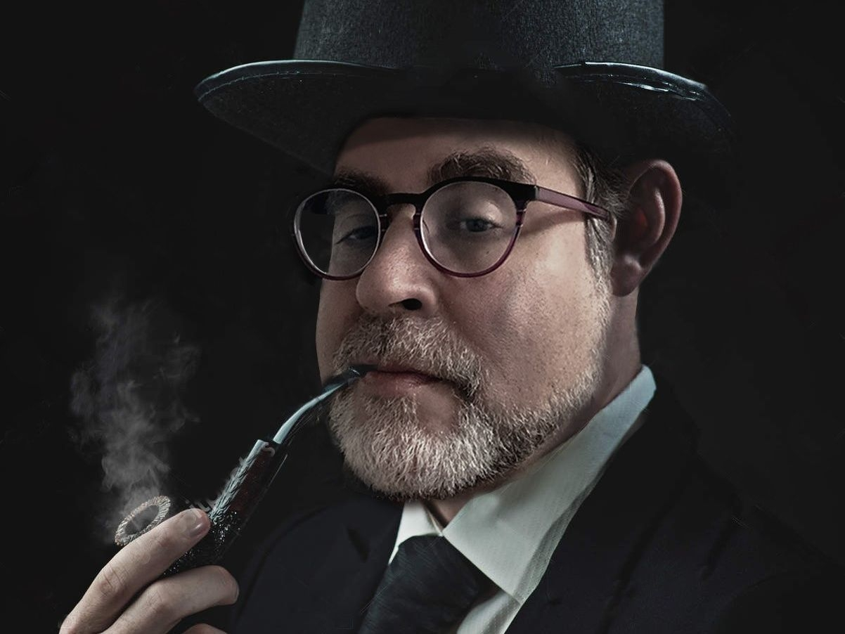 Marc Michael Epstein with Pipe